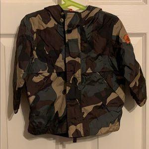 Baby Gap Camouflage windbreaker 2T